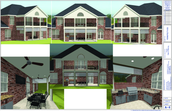JEB Design/Build's 3D concept renderings.